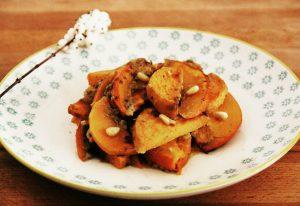 Kürbis-Süßkartoffel-Auflauf