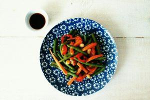 Thai-Salat mit Papaya
